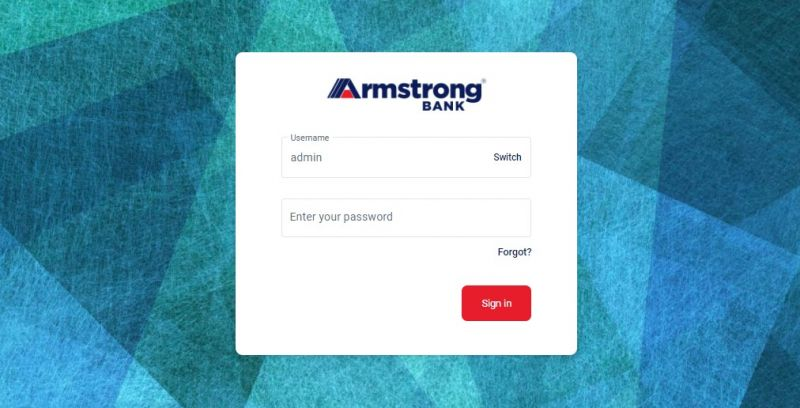 Armstrong Bank Login