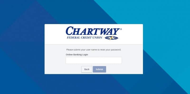 ChartWay Federal Credit Union Forgot password